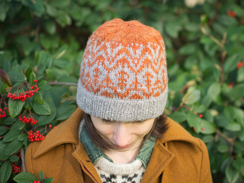 Spinnan Hat knitting pattern