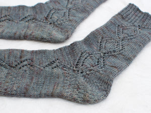 Teth Socks knitting pattern