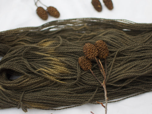Mendip 4-Ply – Alder and Iron (Natural dye)