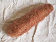 Load image into Gallery viewer, Allspice – Warm brown batts – Kent Romney and mohair fibre (42 g)