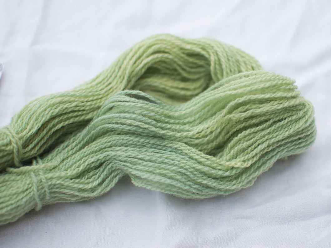 Mendip 4-Ply – Woad green (Natural dye)