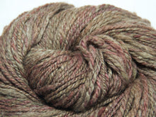 Load image into Gallery viewer, Forest Floor – Hand-spun Bluefaced Leicester wool in earth tones (90g)