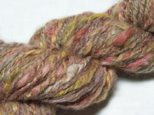 Load image into Gallery viewer, Solace – Hand-spun wool/mohair/flax/alpaca yarn (100g)