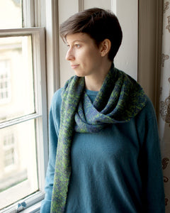 Sunder shawl knitting pattern