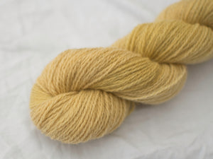 Mendip 4-Ply –Woad yellow (Natural dye)
