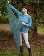Load image into Gallery viewer, Sunder shawl knitting pattern