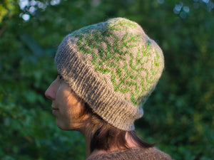 Weod hat knitting pattern