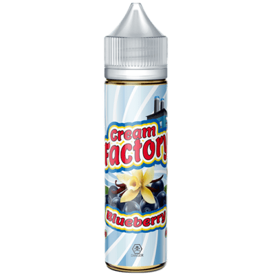 CREAM FACTORY BLUEBERRY - Vape Sweet