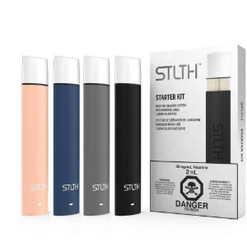 STLTH STARTER KIT WITH 35MG BERRY BLAST POD - Vape Sweet