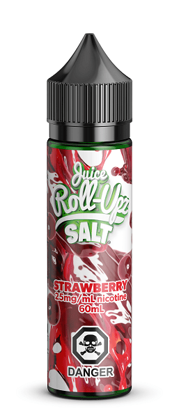 STRAWBERRY ROLL UPZ SALTS - Vape Sweet