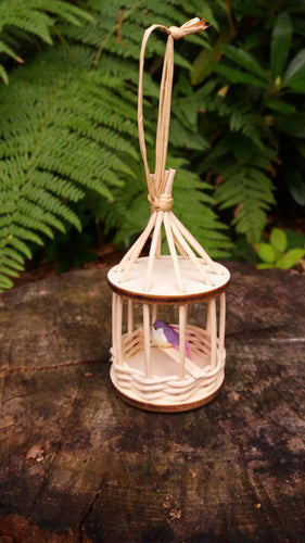DIY Basketry Kit for Beginners | Mini Bird House with Little Bird