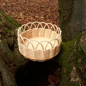 DIY basketry kit for beginners | Round basket