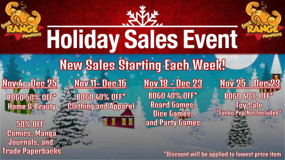 Holiday Sales Events