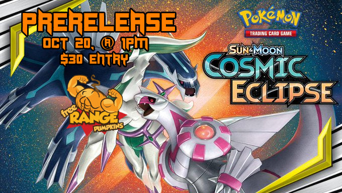 Pokémon Cosmic Eclipse Prerelease