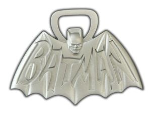 Batman Classic 1966 TV Logo Metal Bottle Opener