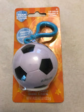 Load image into Gallery viewer, Team Lipbalm Sport Ball with handy clip for carrying ease