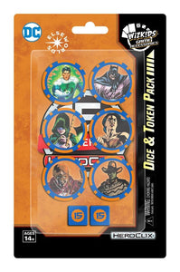 Dc Heroclix: 15th Anniversary Dice & Token Pack
