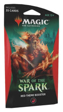 Load image into Gallery viewer, Magic the Gathering: War of the Spark - Theme Booster