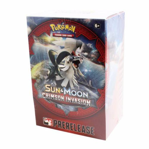 Pokémon TCG: Sun & Moon 04 - Crimson Invasion Prerelease Kit