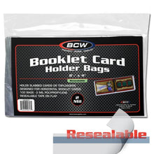 Load image into Gallery viewer, Resealable Booklet Card Holder Bags