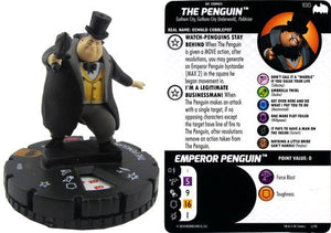 Penguin #100 Batman The Animated Series Op Kit DC Heroclix
