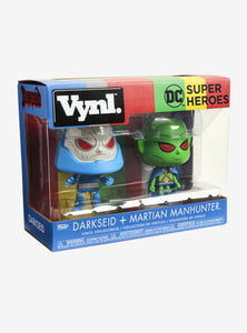 Vynl: DC Comics - Darkseid and Martian Manhunter