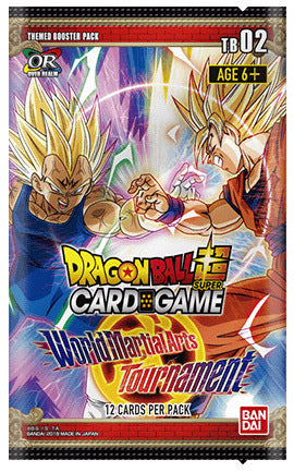 Dragon Ball Super Themed Booster Pack World Martial Arts Tournament - TB02