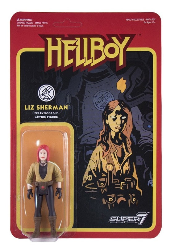 Hellboy Retro Action Figure - Liz Sherman
