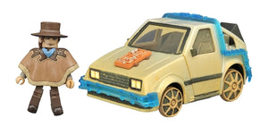 Minimates: Back to the Future III - Rail Ready Time Machine