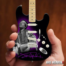 Load image into Gallery viewer, Officially Licensed Jimi Hendrix Mini Fender™ Strat™ Tribute Guitar Model