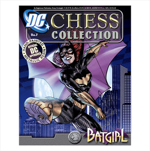 DC Chess Collection #7 Batgirl (White Knight)
