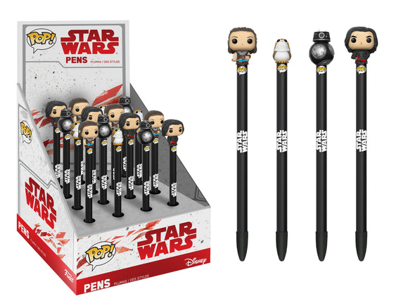Pop! Star Wars: Pen Topper - Last Jedi