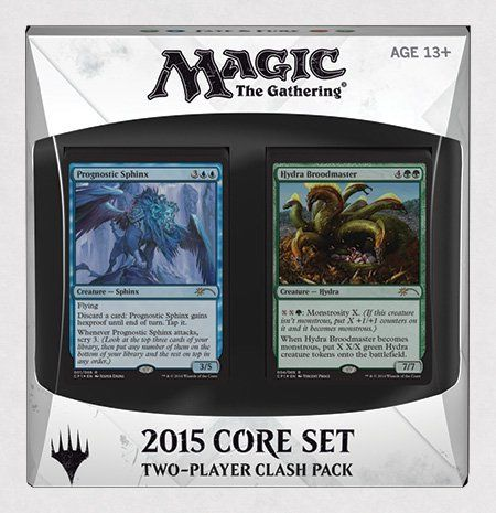 Magic the Gathering: 2015 Core Set - 2-Player CLASH PACK Decks