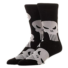 Load image into Gallery viewer, Marvel Punisher All Over Print Crew Socks - Large