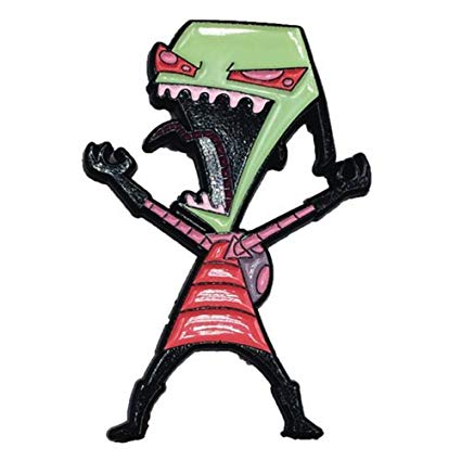 Invader Zim - Laughing Zim Collectible Pin