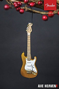 "Fender Gold Stratocaster 6"" Guitar Ornament"