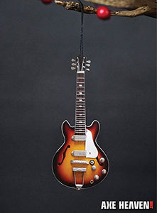 "Sunburst Hollow Body 6"" Guitar Ornament"