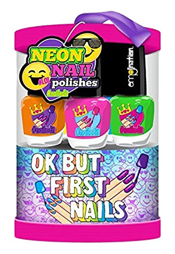 Emojination Neon Nail Polish, Set of 6