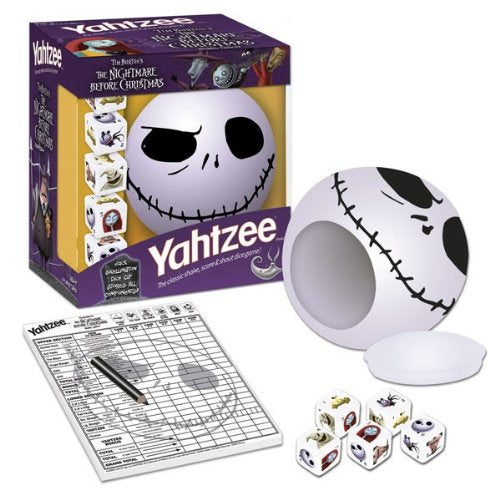 The Nightmare Before Christmas: Yahtzee - Jack