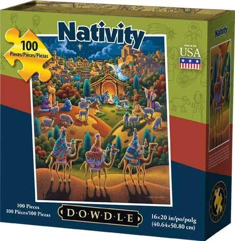 Nativity Jigsaw Puzzle - 100 Piece
