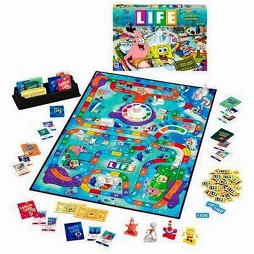 The Game of Life: Spongebob Squarepants