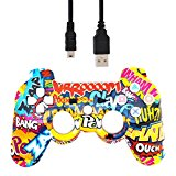 PS3 Bluetooth Controller - Cartoon Action