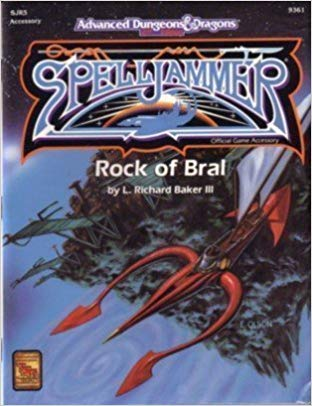 Advanced Dungeons & Dragons 2nd Edition: SpellJammer - Rock of Bral