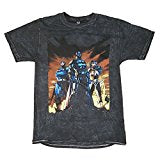 Justice League Sunset Pose Graphic T-Shirt