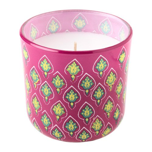 Scented Candle in Glass - Strawberry and Guava