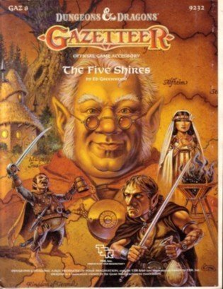 Dungeons & Dragons RPG: Gazetteer - The Five Shires