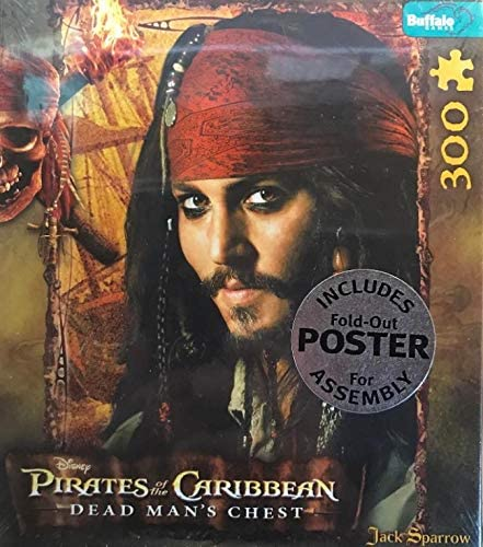 Pirates of the Caribbean Dead Man's Chest - Jack Sparrow Puzzle (300 pieces)