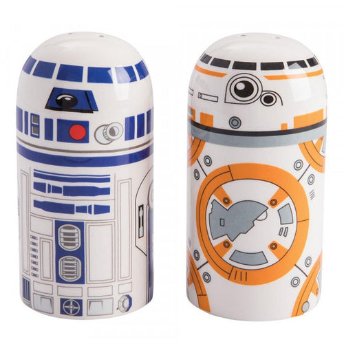 Star Wars: BB-8 and R2-D2 Salt and Pepper Set