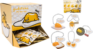 Gudetama the Lazy Egg: Dangler Keychain Blind Bag