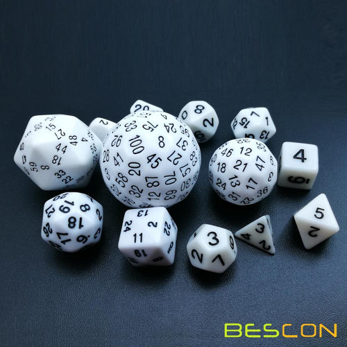 13 Piece Polyhedral Dice Set